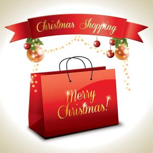busta Natale - Christmas Shopping