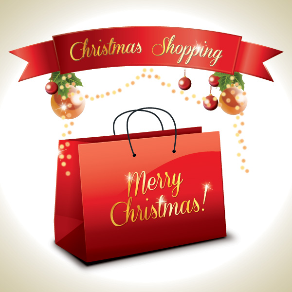 busta Natale - Christmas Shopping