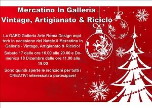 Mercatino in Galleria Vintage, Artiginato & Riciclo