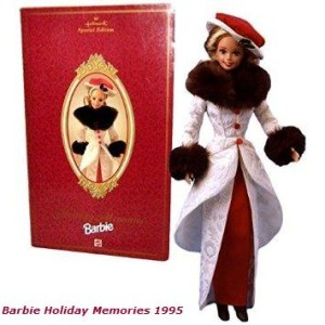1995 Barbie Hallmark Special Edition Series 12 Inch Doll - HOLIDAY MEMORIES BARBIE