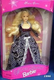 1996 Winter Fantasy Barbie 2 Blonde - Sam's Club Exclusive
