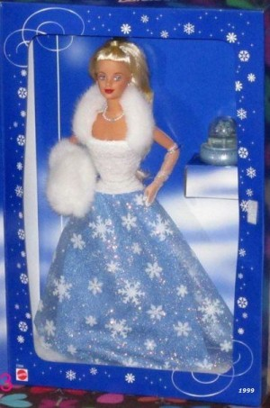 1999 Mattel Barbie Snow Sensation Barbie Special Edition NIB