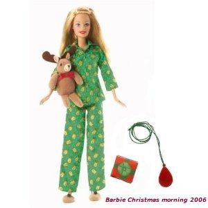 2006 Barbie Christmas morning