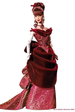 2006 Victorian Holiday Barbie Doll Exclusive