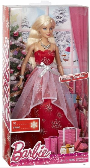 2015 Barbie  Holiday Sparkle American Doll