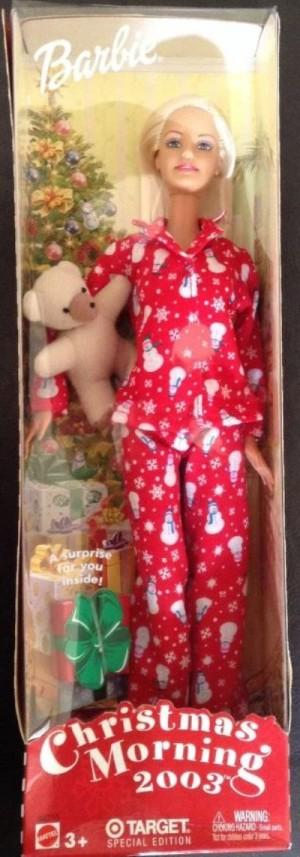 Christmas Morning Barbie