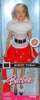 Holiday Wishes Barbie Doll